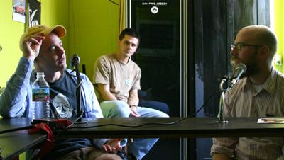 Frank Prattle with Zefrey, Harrell Fletcher and Steve Lambert