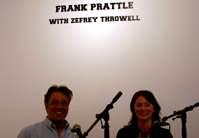 Frank Prattle with Zefrey Throwell, featuring Ross Mirkarimi and Dina Pugh